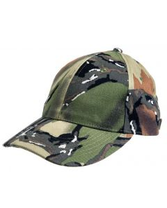 Predator Regular Brim Cotton Hat - Green Deception