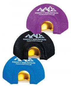 Rocky Mountain Golden Tone Plate 3 Pack Elk Diaphragm Calls 1