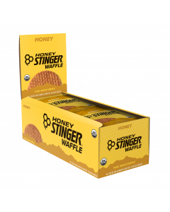 Honey Stinger Organic Waffles - Box of 16 -  Honey