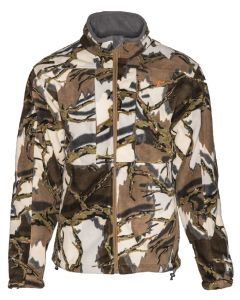 Predator Stealth Micro Fleece Jacket - Brown Deception