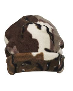 Predator Stealth Fleece Beanie - Brown Deception