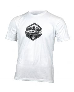 Alaska Guide Creations Logo Tee Shirt - White