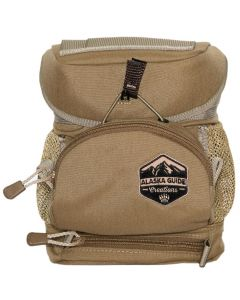 Alaska Guide Creations Hybrid MAX Bino Harness - Coyote Brown