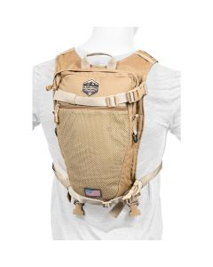 Alaska Guide Creations Stalker Hydration Pack - Coyote Brown