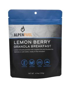 Alpen Fuel Lemon Berry Granola Breakfast Backpacking Meal