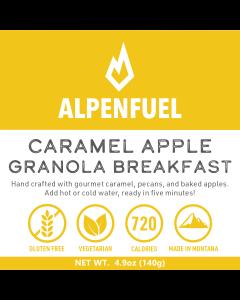 Alpen Fuel Caramel Apple Granola Breakfast Meal