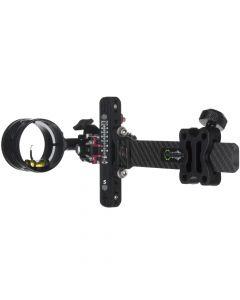 Axcel Landslyde Carbon Pro Slider 1 Pin .019 Archery Sight