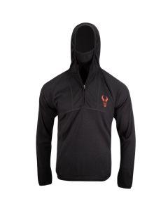 Badlands Stealth Long Sleeve Pullover - Black