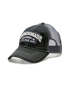 Benchmade 50014 Solid Steel Black Trucker Hat - 1