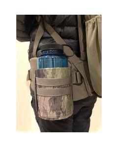 Bend-Able Backpack Water Bottle Holder