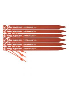Big Agnes Dirt Digger UL Tent Stakes - Pack of 6