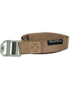 BlackOvis Chockstone Woven Stretch Belt