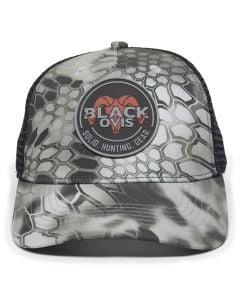 BlackOvis Hunter Hex Patch Trucker Hat - Raid