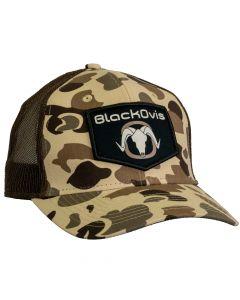 BlackOvis Old School Hunters Trucker Hat