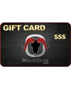 BlackOvis Gift Card