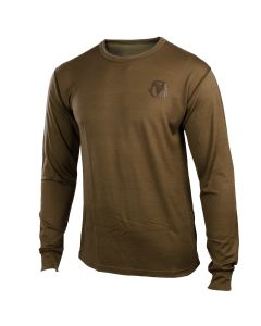 BlackOvis NWT 150 Lightweight Merino Blend LS - Kodiak