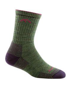Darn Tough 1903 Hiker Micro Crew Cushion Socks - Moss Heather