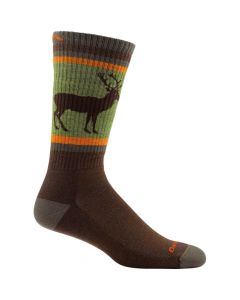 Darn Tough 1949 Uncle Buck Boot Cushion Socks - Brown