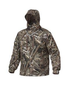 Drake Heat Escape Waterproof Full Zip Jacket - Realtree Max-5