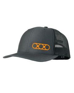 Eberlestock Ring Logo Cap - Grey/Orange