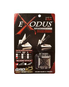 QAD Exodus Broadhead Replacement Blades Installation