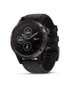 Garmin Fenix 5 Plus DLC Titanium Multisport GPS Watch - Sapphire Edition