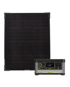 Goal Zero Yeti 500X Portable Power Station + Boulder 50 Solar Kit