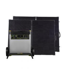 Goal Zero Yeti 6000x & 2 Boulder 200 Briefcases Solar Kit