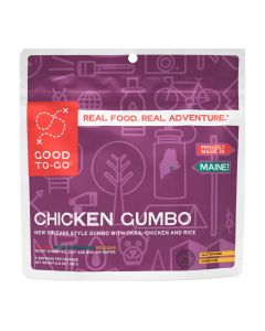 Good To-Go Chicken Gumbo Dehydrated Meal