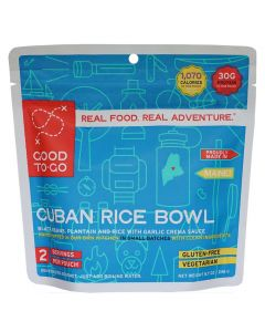 Good To-Go Cuban Rice Bowl Dehydrated Meal