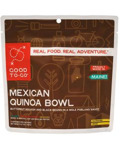 Good To-Go Mexican Quinoa Bowl Dehydrated Meal