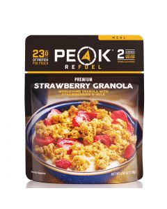 Peak Refuel Strawberry Granola Pouch 1