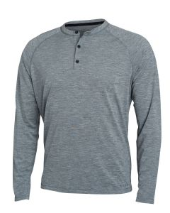Sitka Hanger Work Henley Long Sleeve Shirt  - Lead