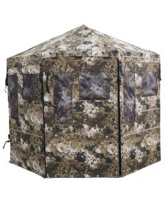 Hawk Down and Out Octagon Veil Hunting Blind