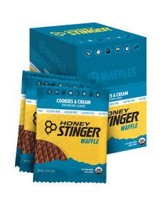 Honey Stinger Cookies & Cream 12 Pack Waffles