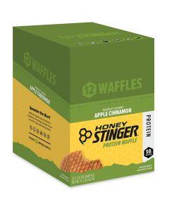 Honey Stinger Organic Protein Waffles - 12 Pack - Apple Cinnamon