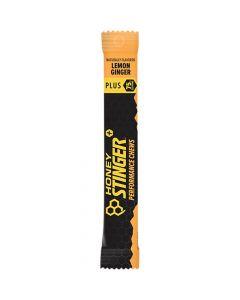 Honey Stinger Plus+ Performance Chews - 12 Pack - Lemon Ginger