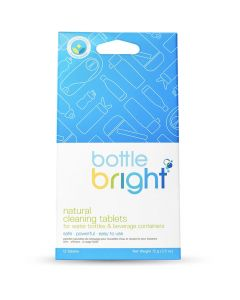 HydraPak Bottle Bright Natural Cleaning Tablets - 12 Pack