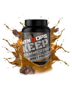 MTN OPS Cameron Hanes Keep Hammering Whey Protein 1