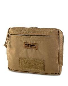 Kifaru 500D Organizer Pocket - Coyote Brown