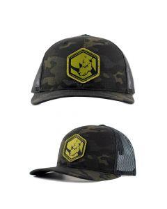 Kifaru Black Multicam Trucker Headwear