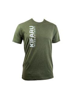 Kifaru Vertical Logo T-Shirt - Front