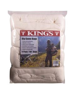 King's Camo 4-Pack Game Bags - 60 in