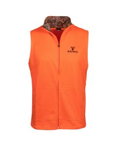 King's Camo Blaze Full Zip Poly Vest