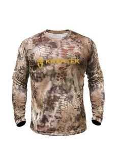 Kryptek Hyperion Long Sleeve Logo T-Shirt - Highlander
