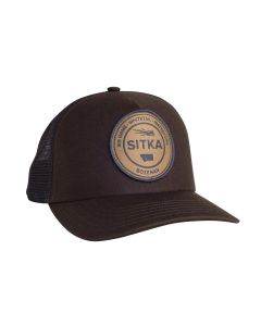 Sitka Seal Five Panel Patch Trucker Cap - Mud
