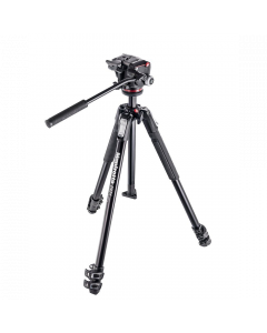 Manfrotto 290 Xtra Aluminum 3-Section Tripod Kit with XPRO Video Head