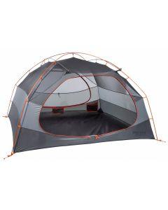 Marmot Limelight 3 Person Tent - Cinder/Rusted Orange - Door Open