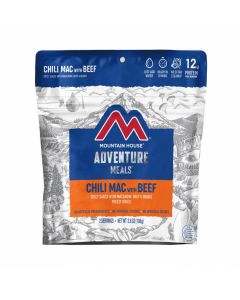 Mountain House Chili Mac with Beef Adventure Meal - Front