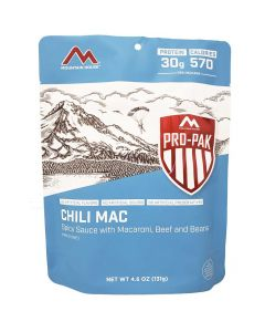 Mountain House Chili Mac with Beef Pro Pak - Front